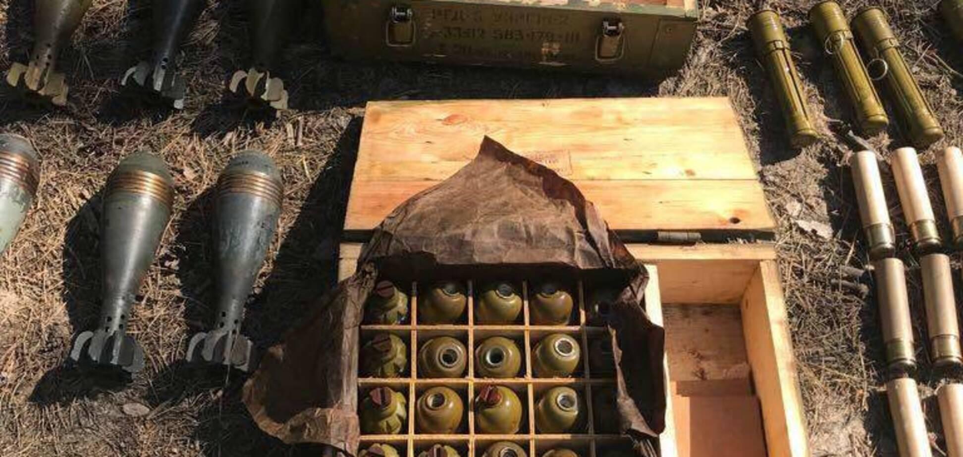 Проросійське підпілля: Україні вказали, хто стоїть за схронами зброї