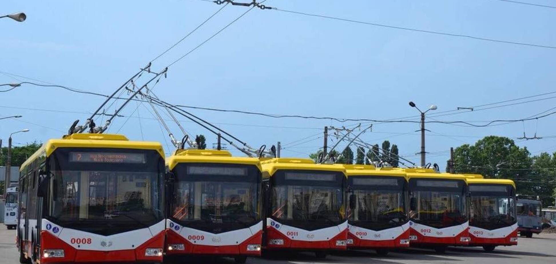 Могут 'приседать': в Одессе похвастались новым электротранспортом