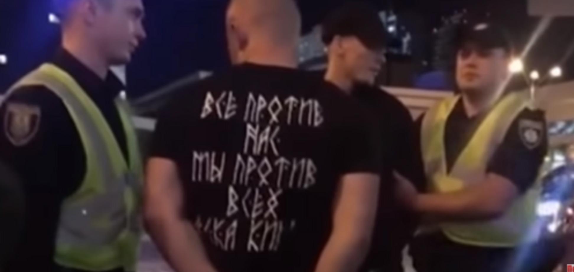 Фанів 'Ліверпуля' побили в центрі Києва: стало відомо, хто 'відзначився'