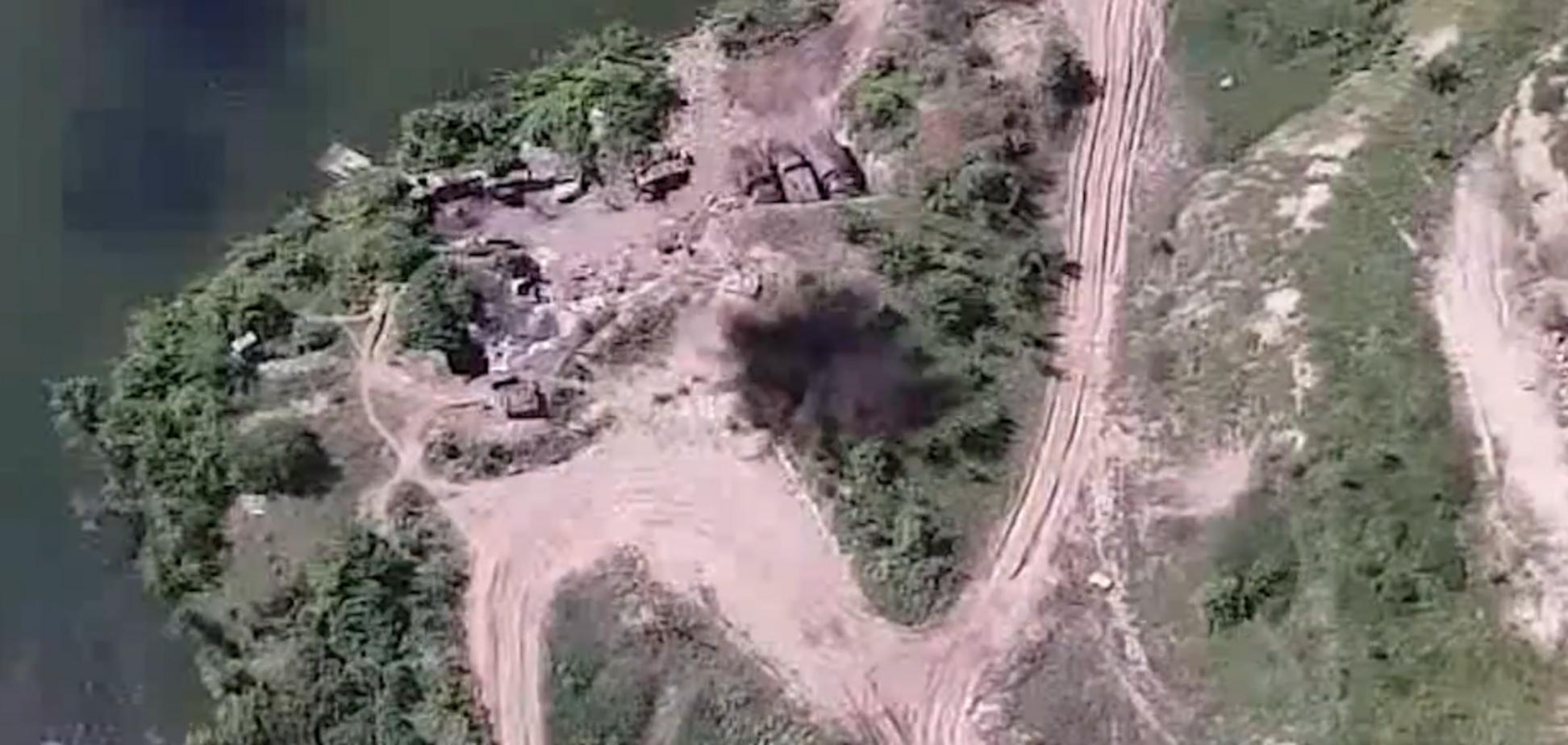 Об'єднані сили потужним ударом розбили терористів: з'явилося відео