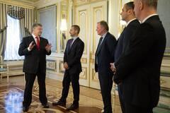 Финал ЛЧ в Киеве: Порошенко объявил следующую спортивную цель Украины