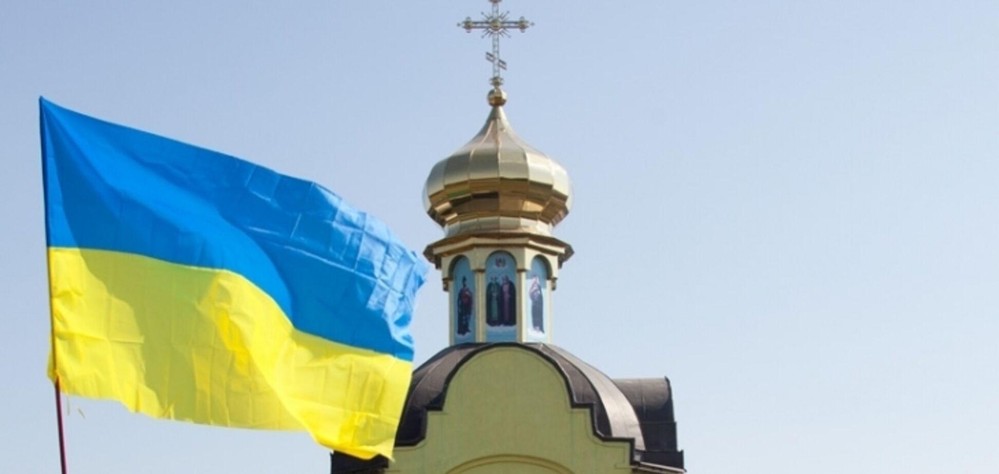 У Києві напали на церкву УПЦ КП