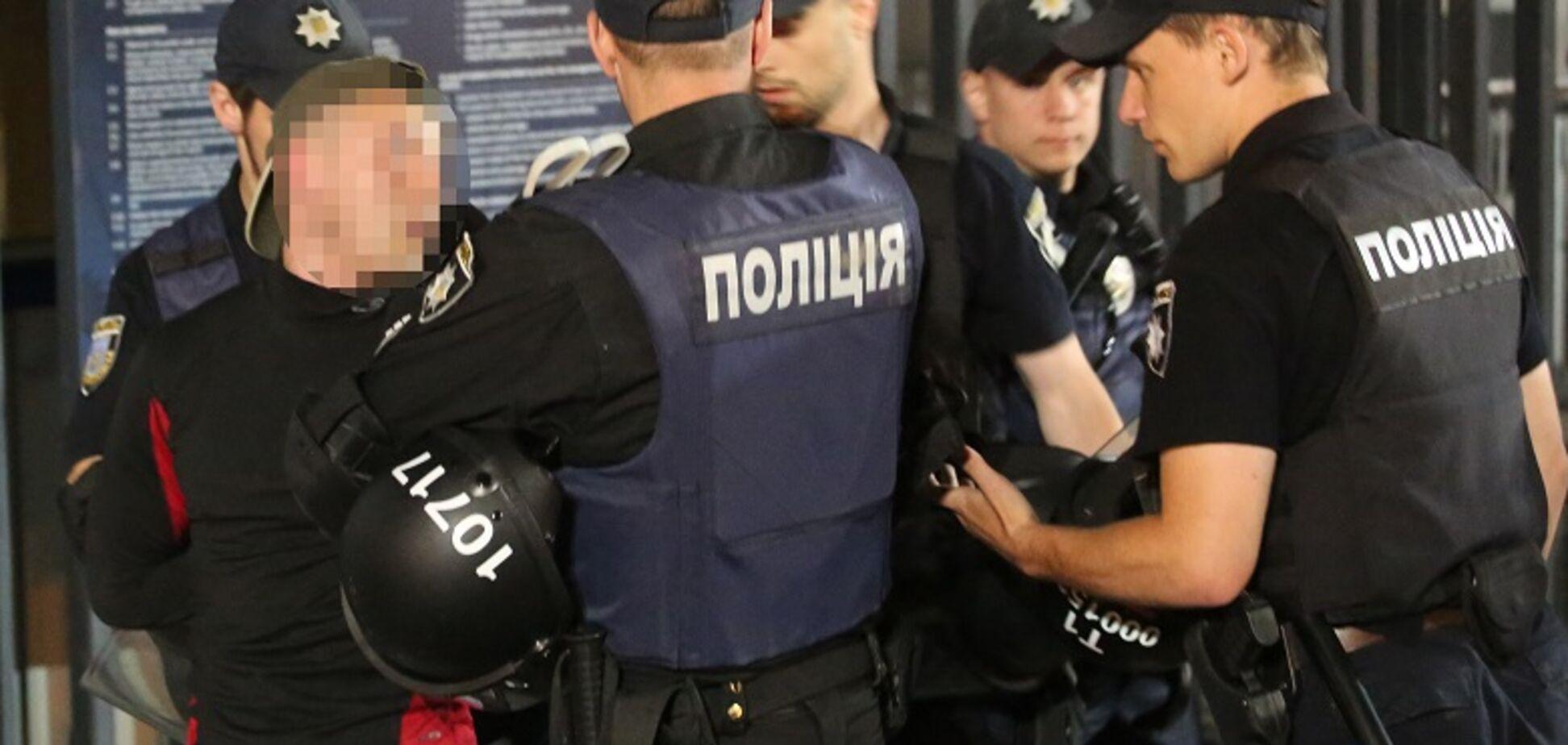 Під час фіналу ЛЧ у Києві затримали провокаторів