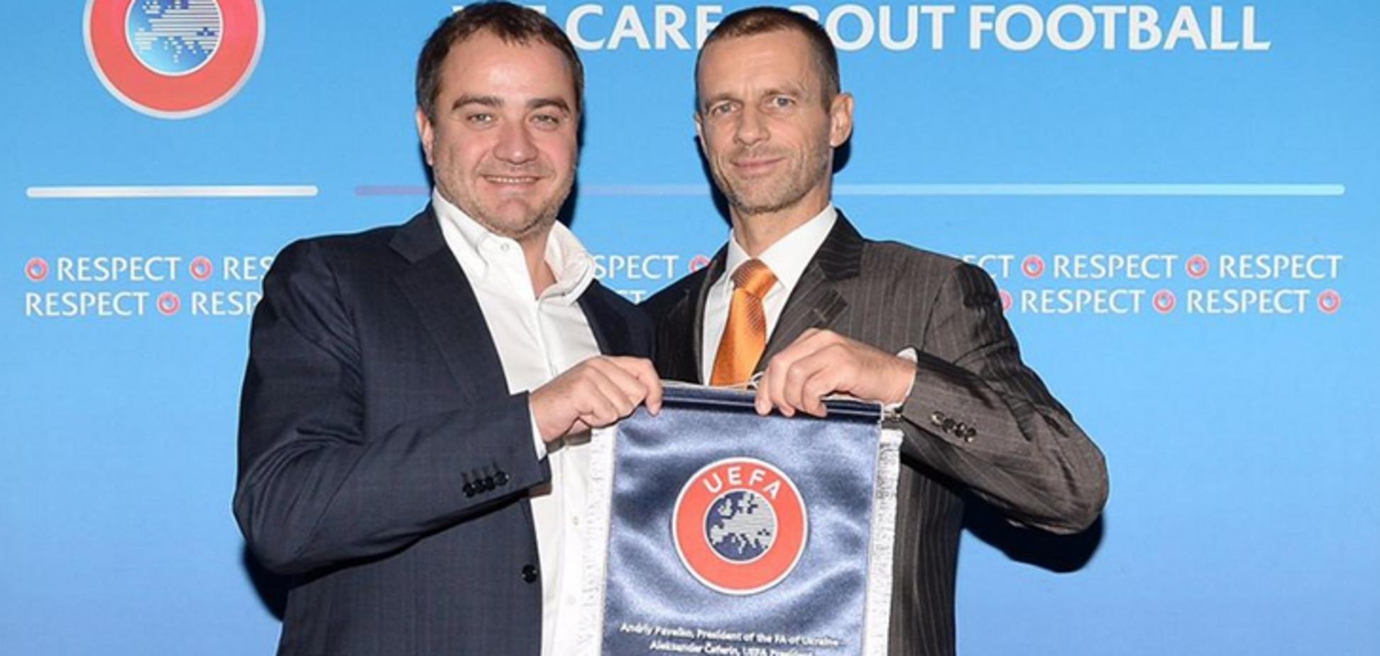 Президент УЄФА: 'Організація фіналів Ліги чемпіонів - безумовний успіх ФФУ'