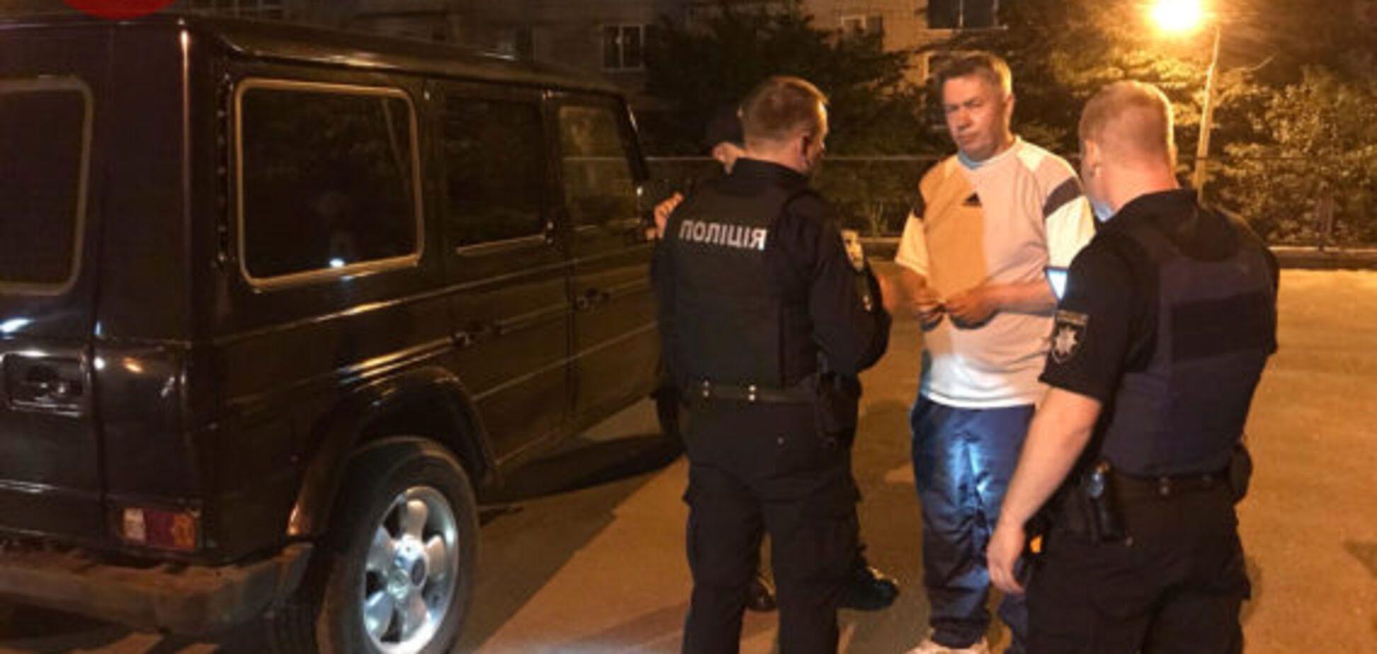'Я не їхав, я пішохід': у Києві екс-нардепа спіймали п'яним за кермом