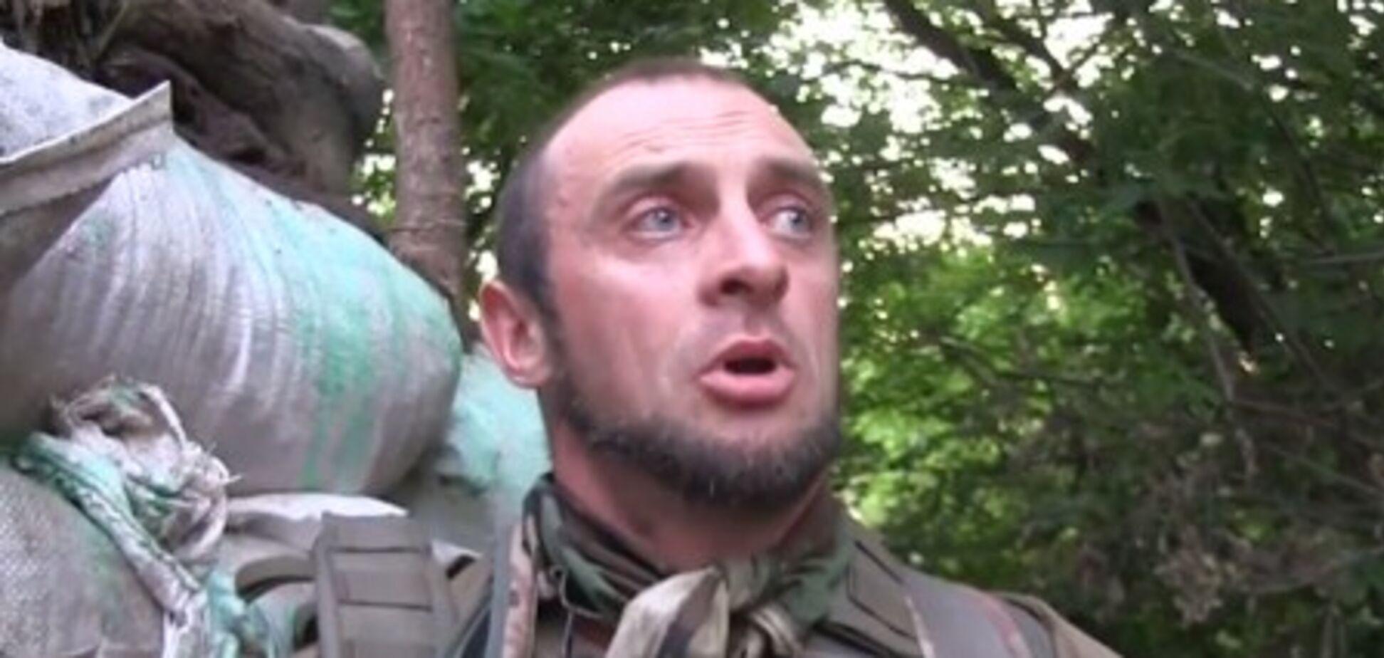 Воюет на стороне Украины: экс-охранника 'Моторолы' показали на передовой