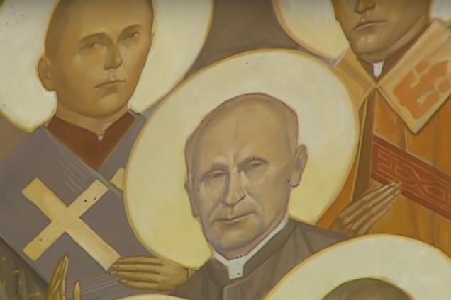 Путін-великомученик: храм на Львівщині викликав скандал дивною іконою