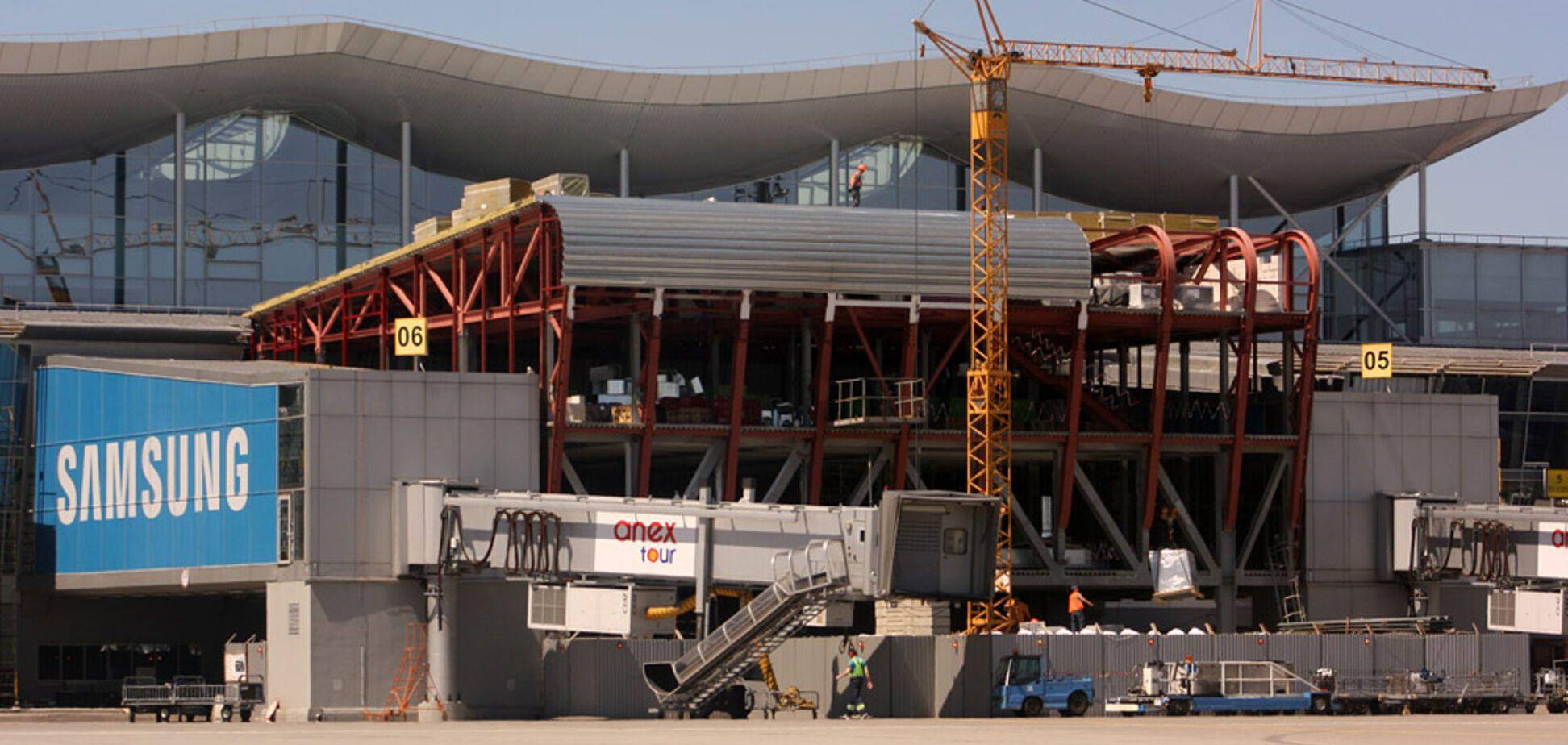 Як змінюють термінал D в 'Борисполі': в мережу потрапили фото