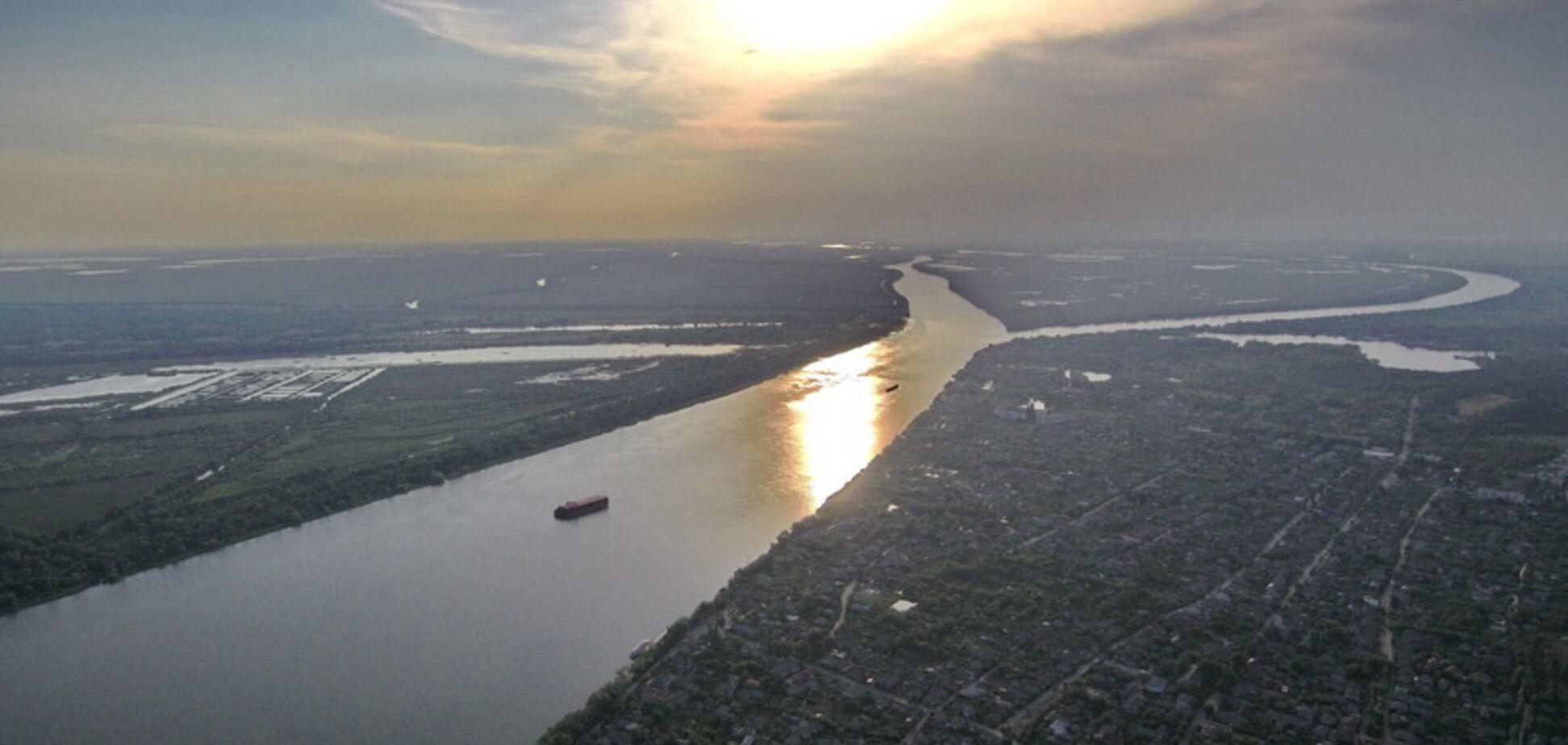 Украинскую Венецию показали с высоты птичьего полета: яркие фото и видео