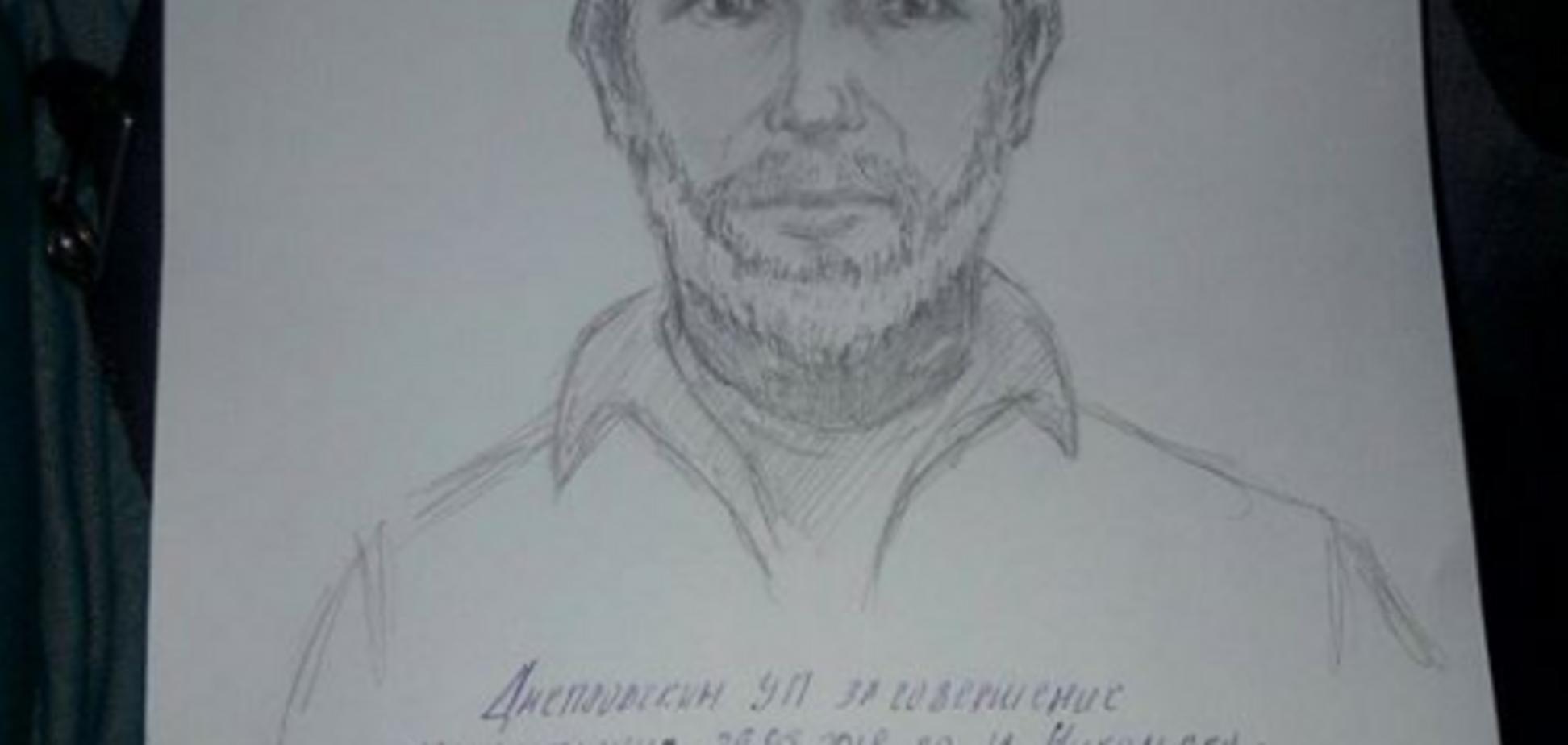 Вбивство Бабченка: МВС склало фоторобот підозрюваного