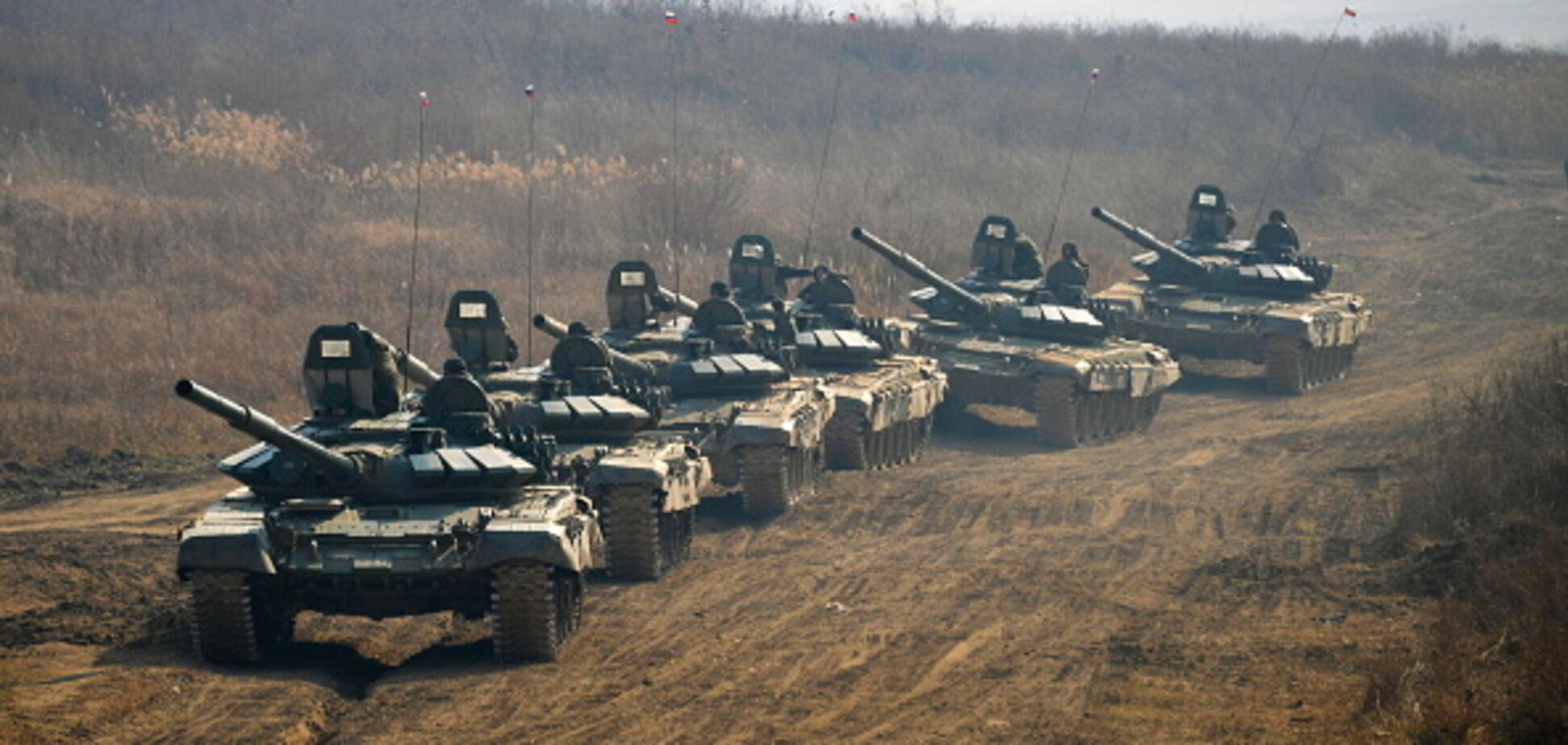 Росія почала перекидання важкого озброєння до кордонів України