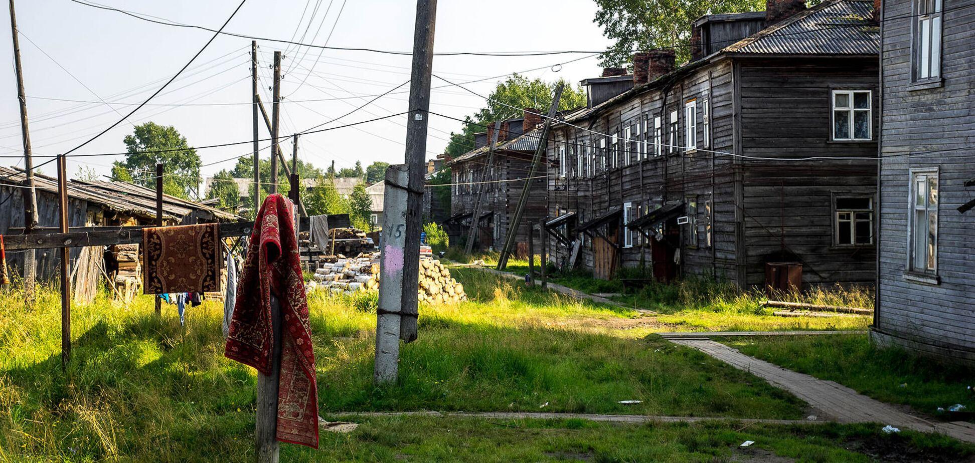 Эталон российской разрухи и безнадёги