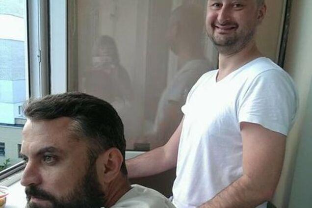 Аркадий Бабченко и Юрий Мацарский