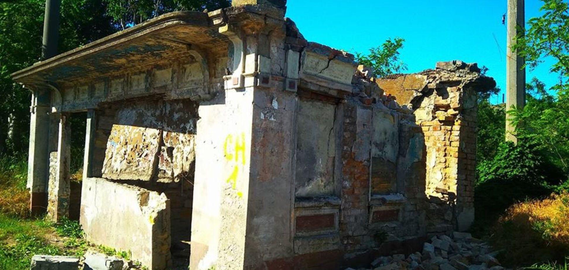'Буквально розвалився': Одеса втратила унікальний пам'ятник архітектури
