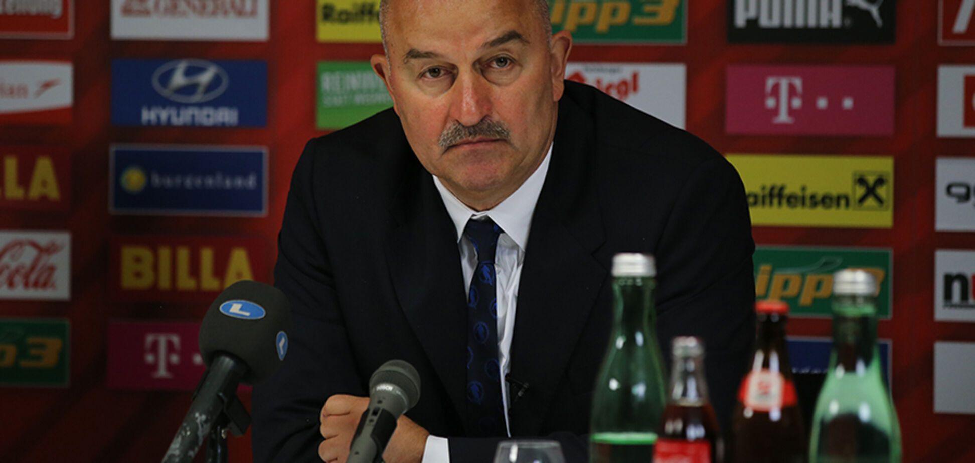 Вистачило на 25 хвилин: тренер збірної Росії безглуздо виправдався після ганебної гри