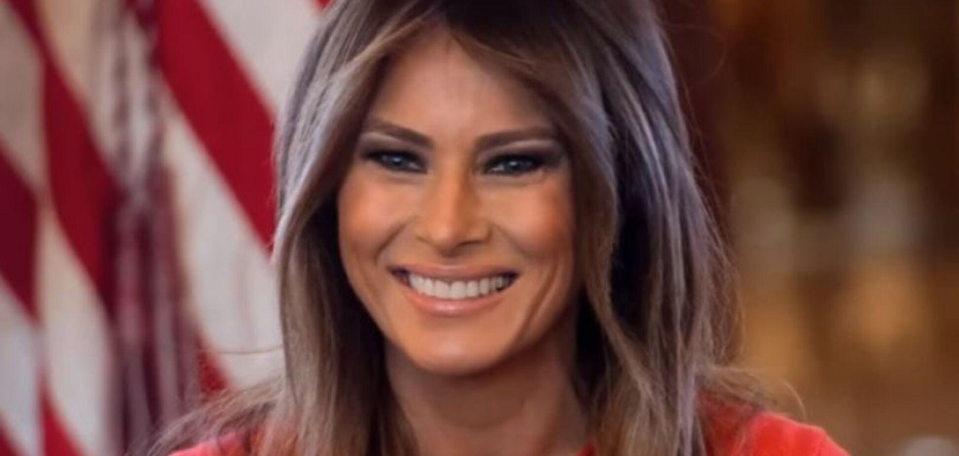 У Меланії Трамп пухлина: перша леді США розповіла про своє самопочуття
