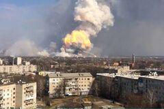 'Замешана Россия': названа причина взрывов на складе боеприпасов в Балаклее