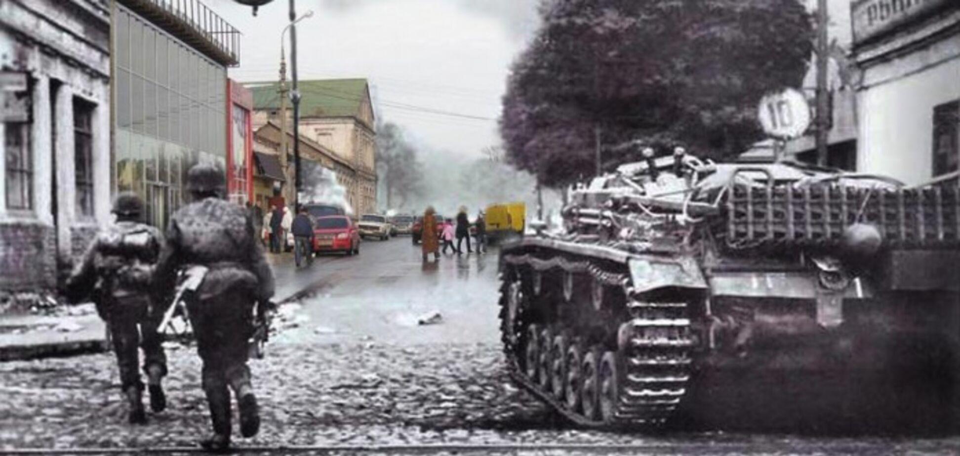 Мариуполь в годы II мировой войны: в сеть попали уникальные архивные фото