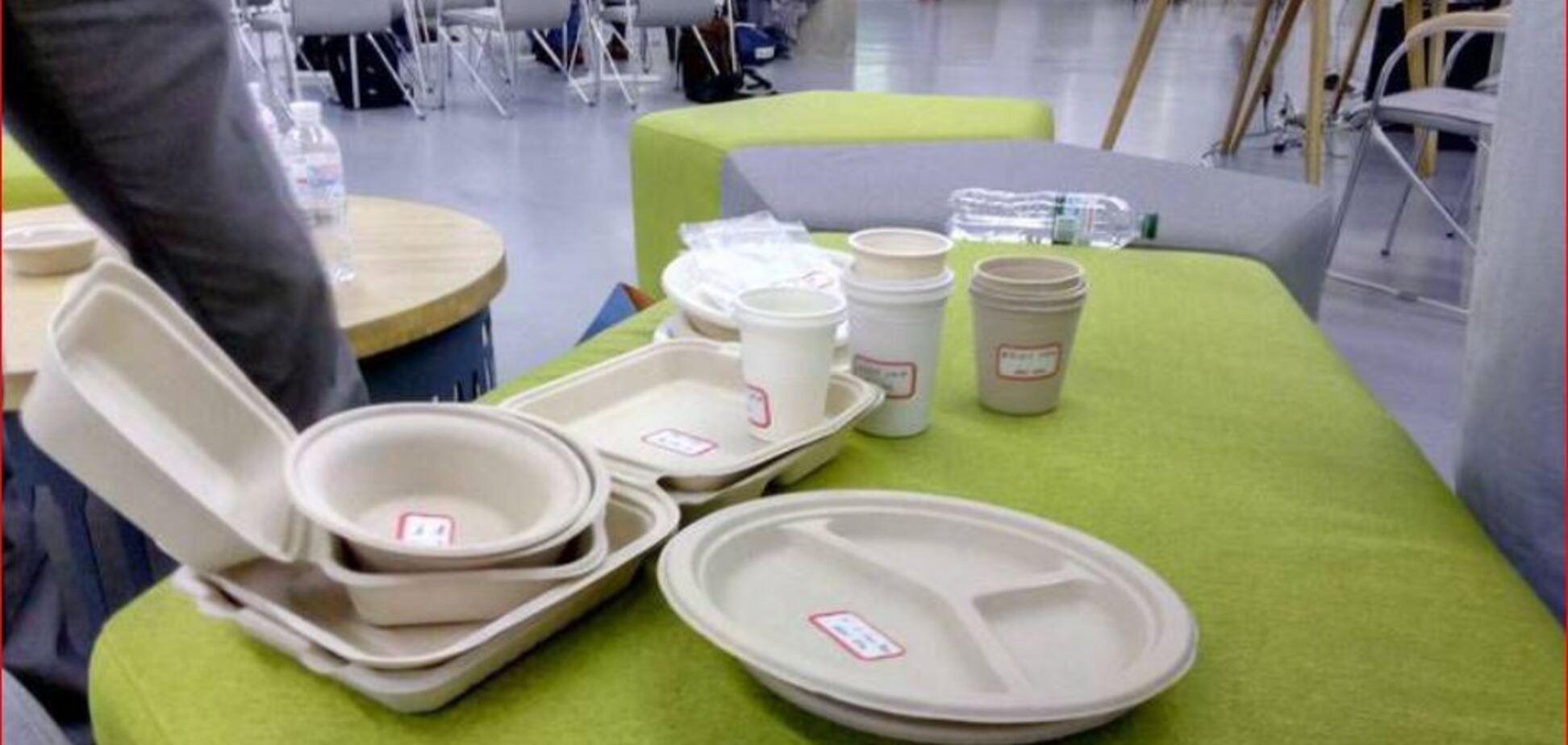 Розкладається за півтора місяці: в українській Венеції вироблятимуть унікальний еко-посуд