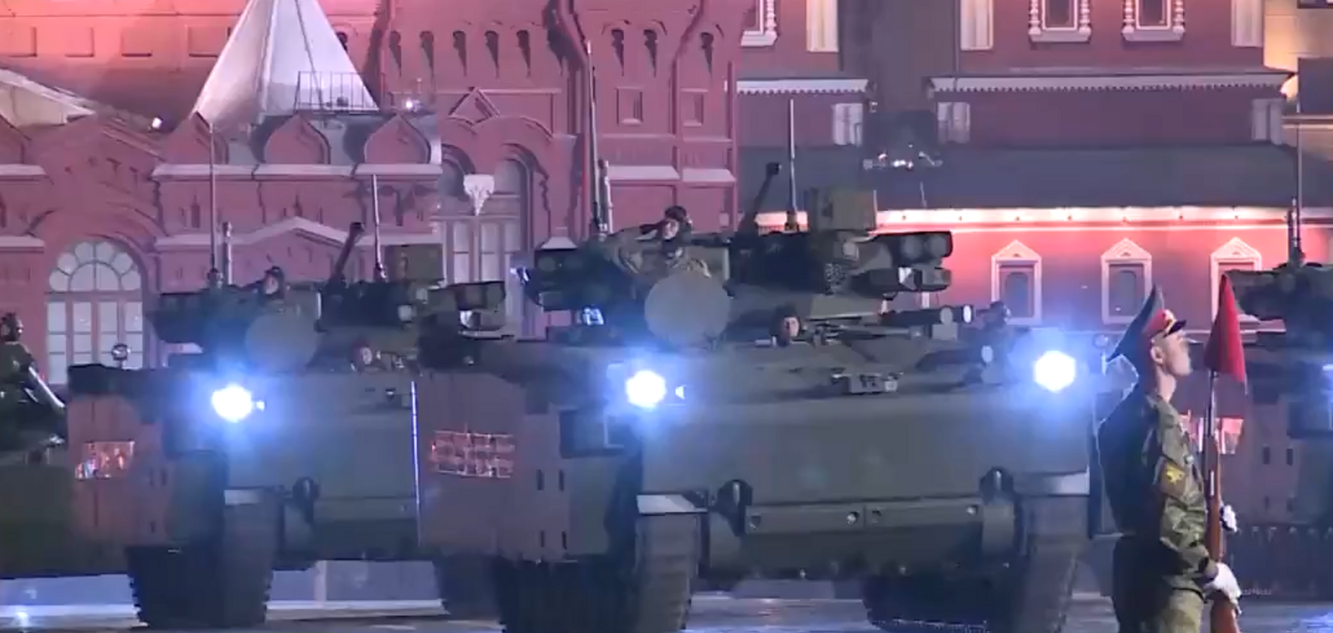 По-имперски: появилось свежее видео репетиций к 9 мая в Москве