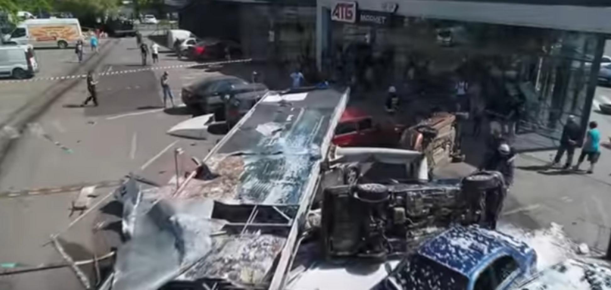 Смертельна ДТП із фурою в Дніпрі: з'явилися нові відео та подробиці