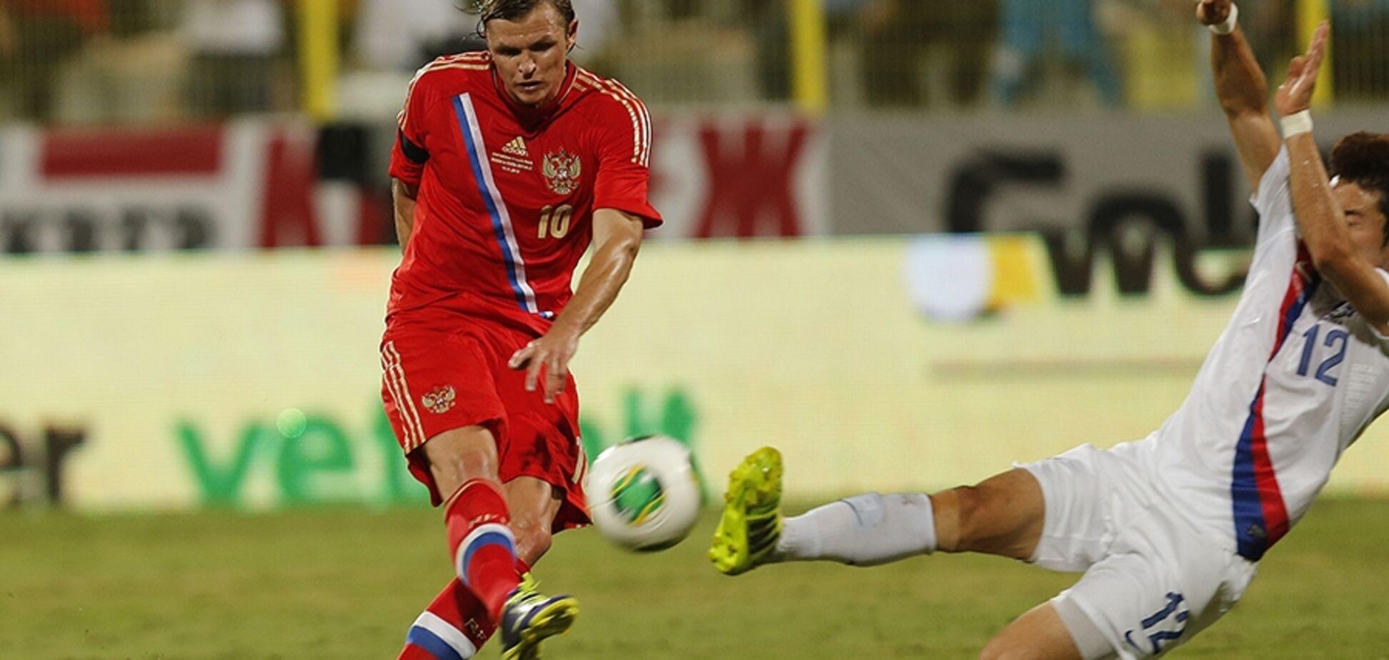 СМИ: футболист сборной России избил болельщика