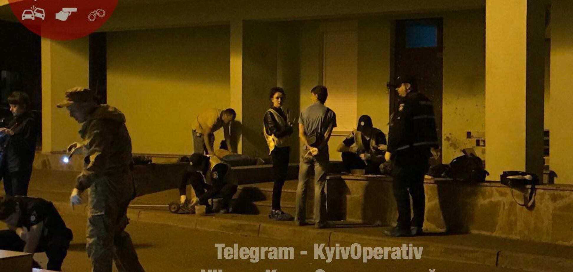 'Куски головы были везде': свидетель описал ночной взрыв в Киеве