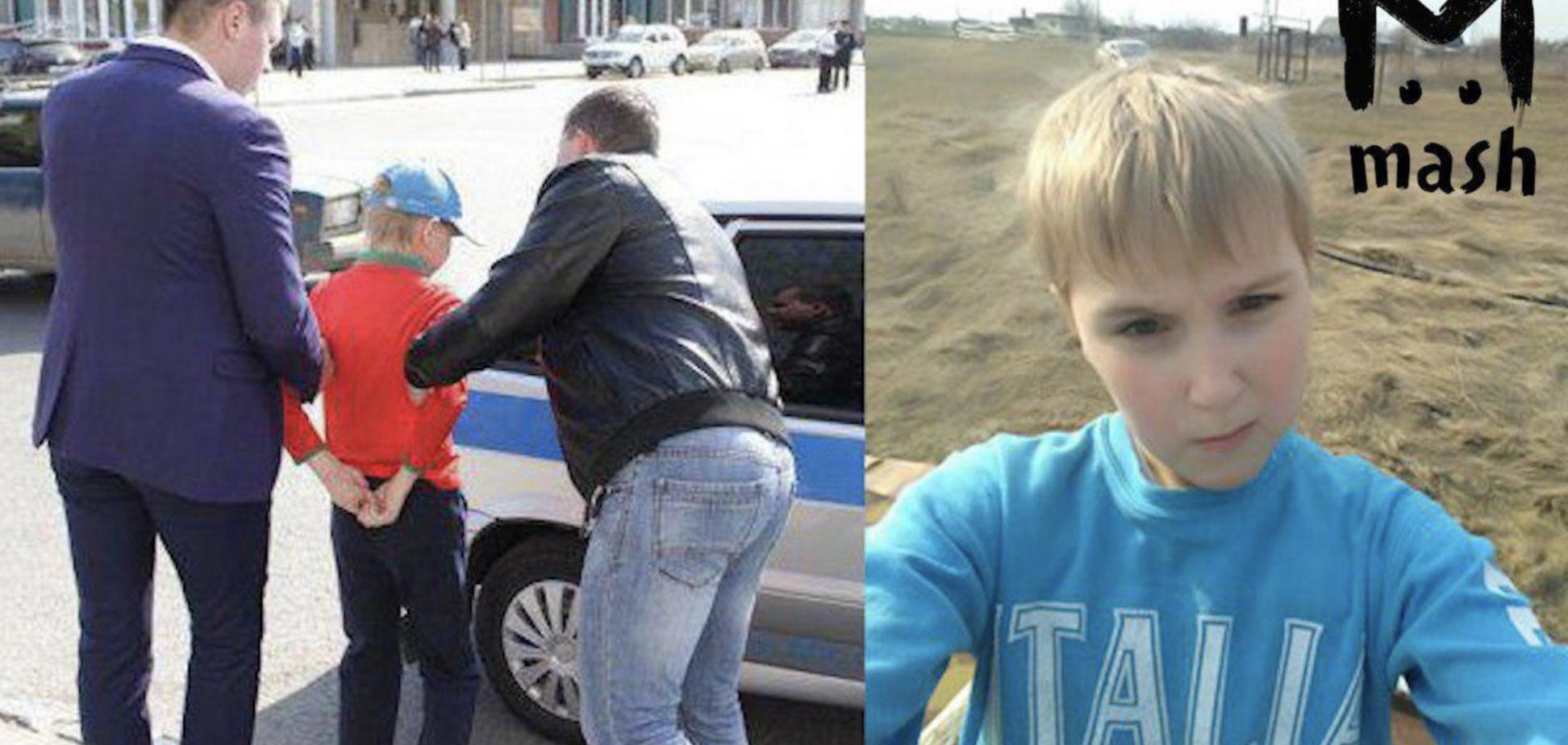'Це ганьба!' У Росії на мітингу проти Путіна затримали дітей