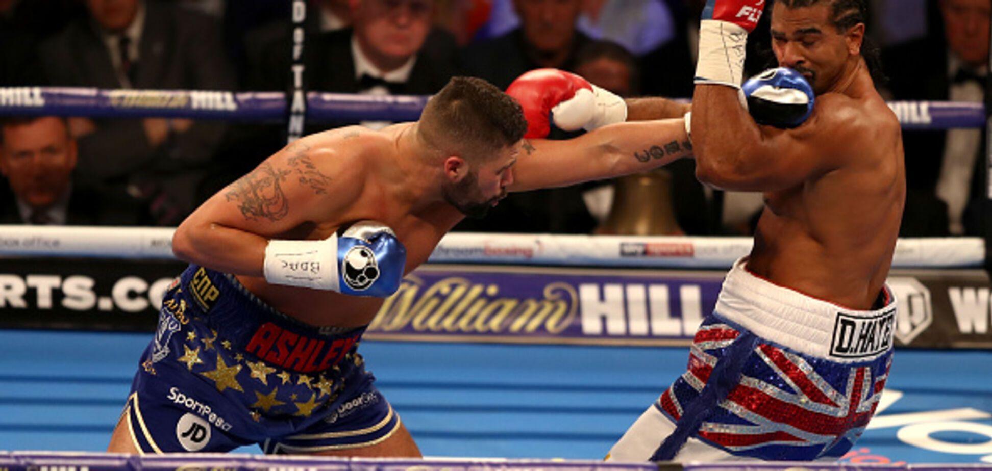 Знаменитий боксер зазнав ганебної поразки в бою-реванші
