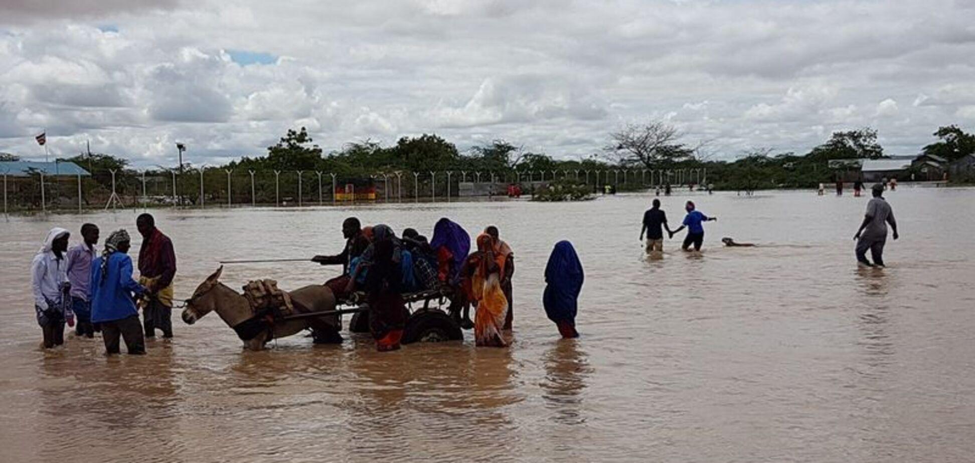 Кения страдает от наводнения: много жертв
