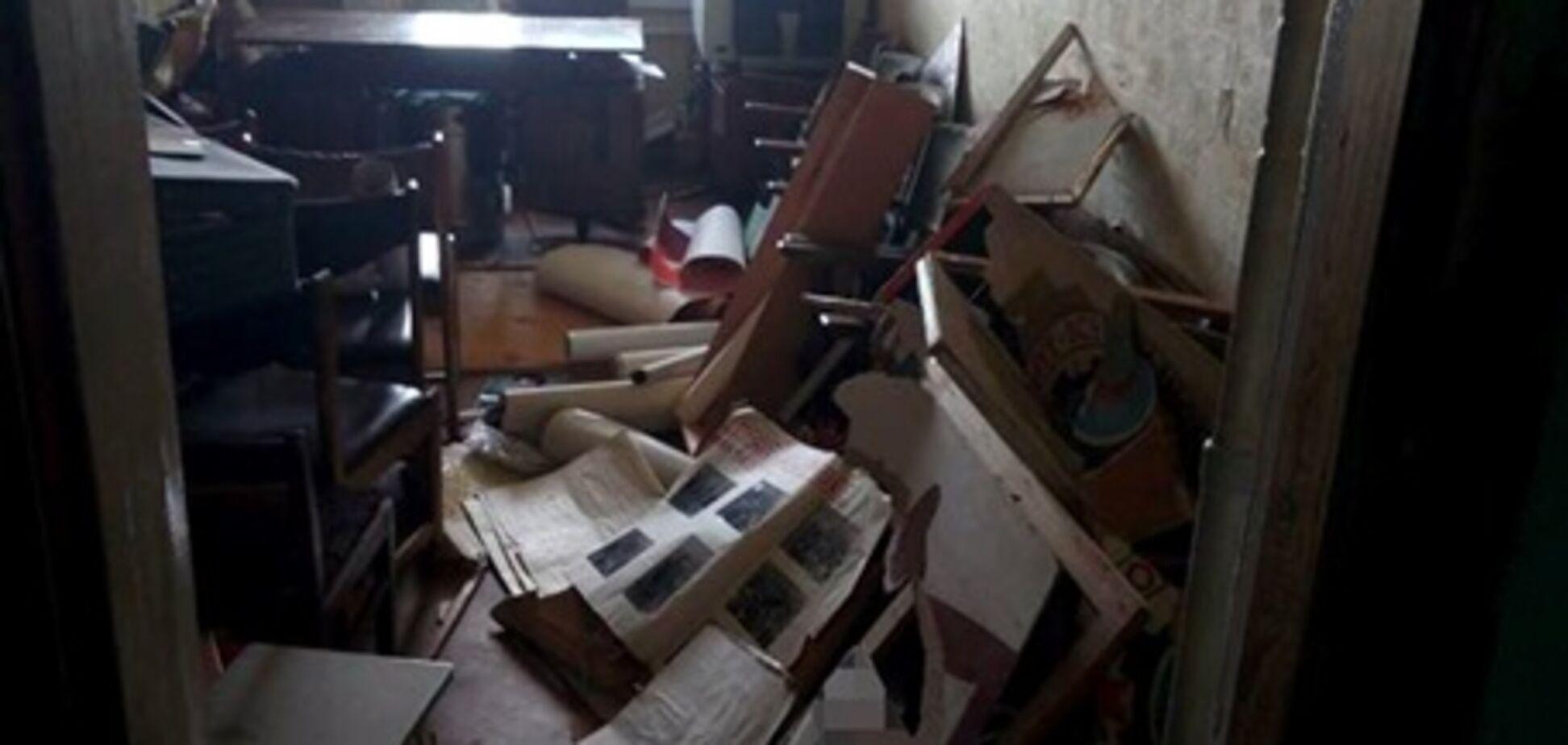 'Все зруйнували і розламали': у Харкові влаштували погром в офісі прихильників 'русского міра'