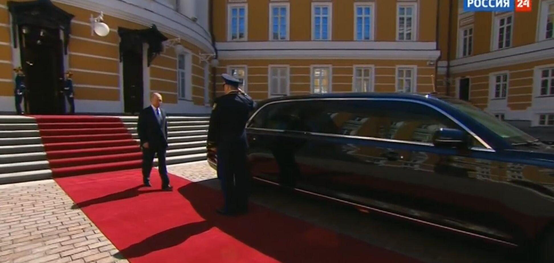 Путін приїхав на інавгурацію на особистому 'броньовику'