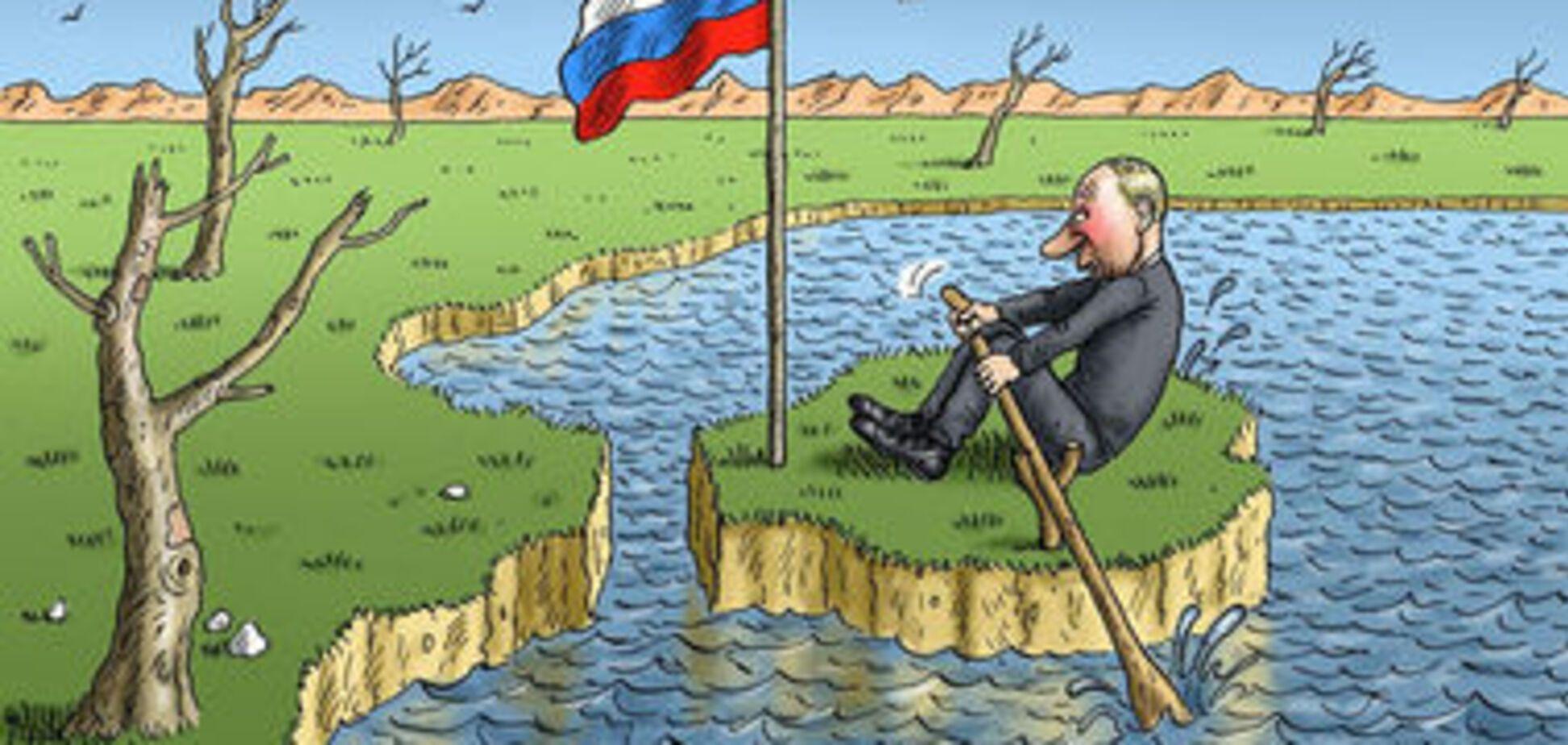 Крым: как они задолбали, превратили нас в жо*у мира