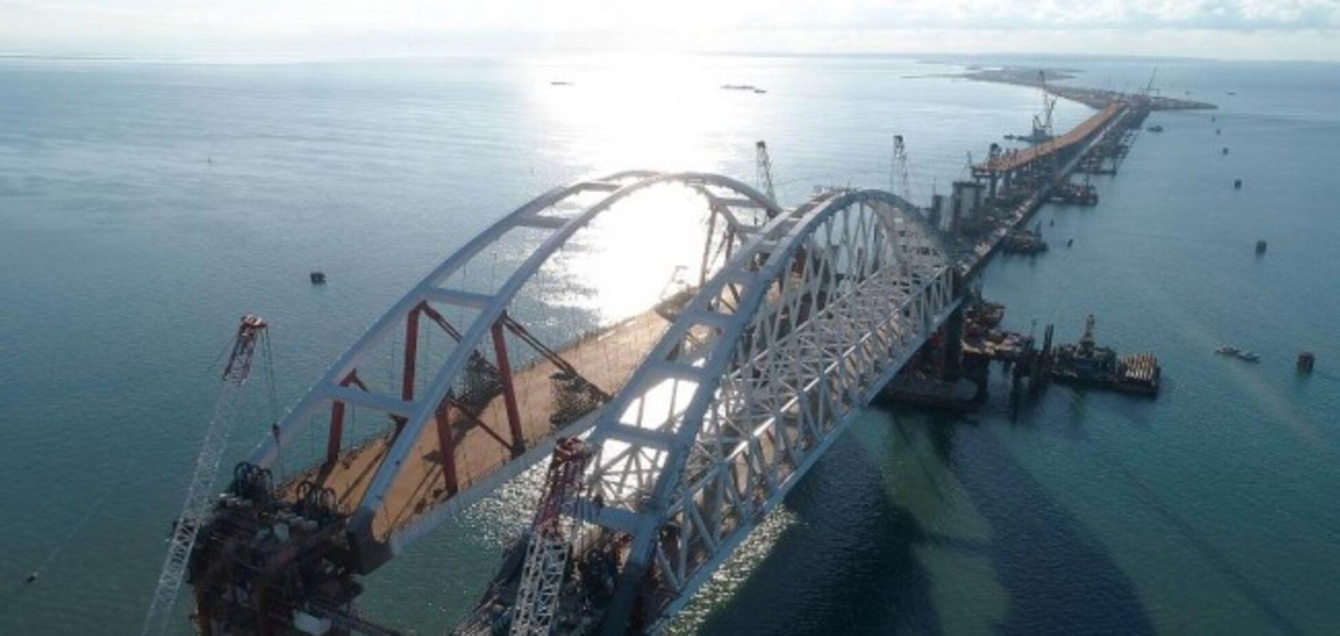 Чтобы Путин мог похвастаться: Крымский мост ляжет на плечи россиян