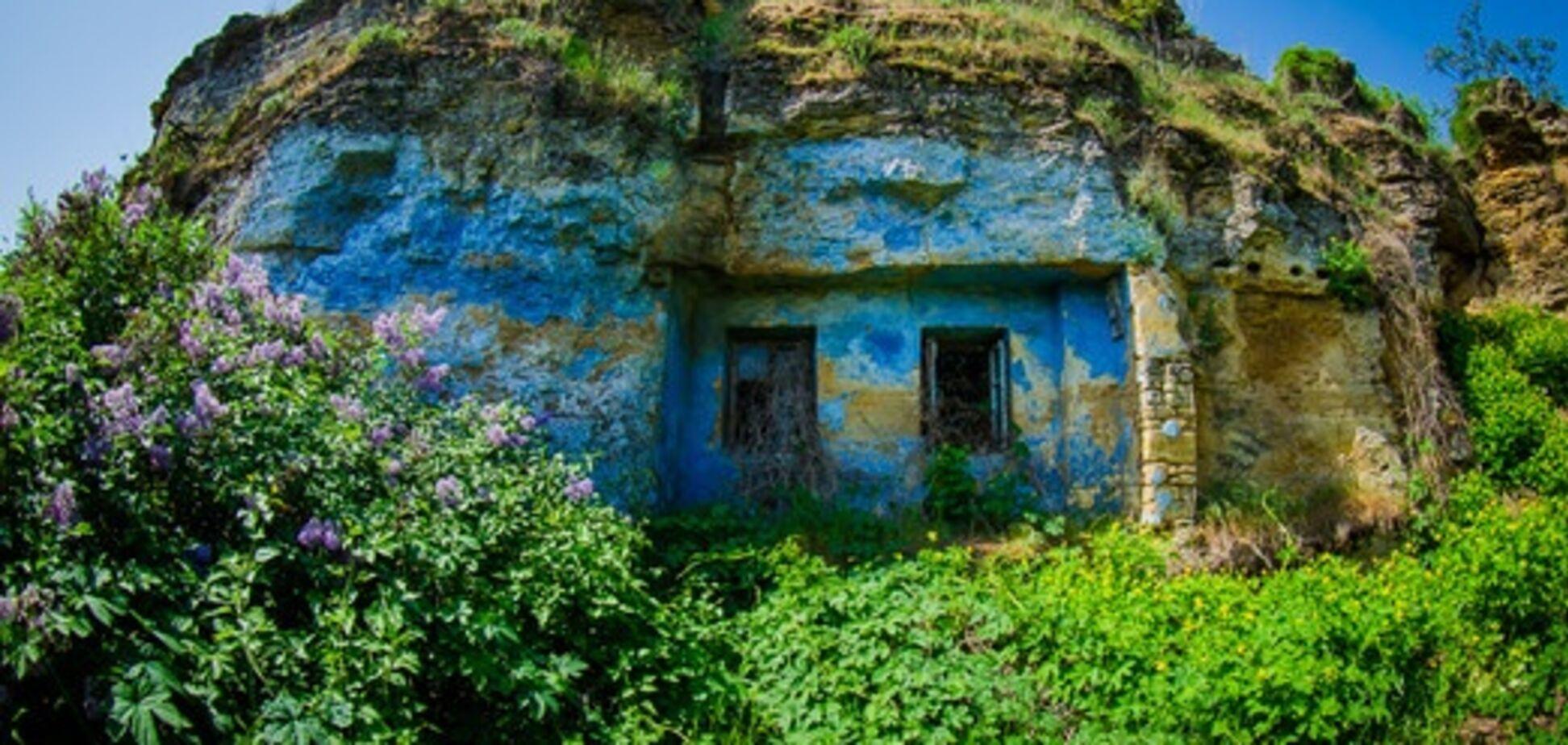 Как выглядят пещерные дома в Одессе:  фото