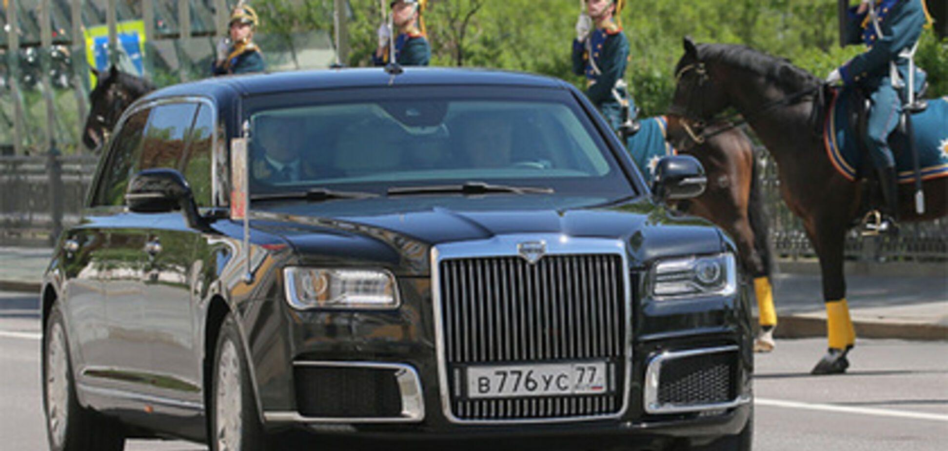 Номери для 'броньовика' Путіна зняли з українського Daewoo