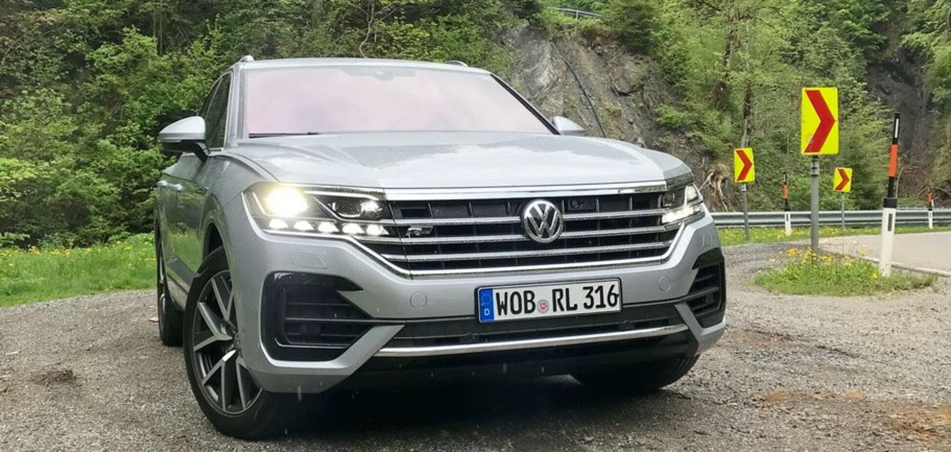 Коли можна відпочити за кермом: тест-драйв: як новий Volkswagen Touareg 2018 став респектабельнішим