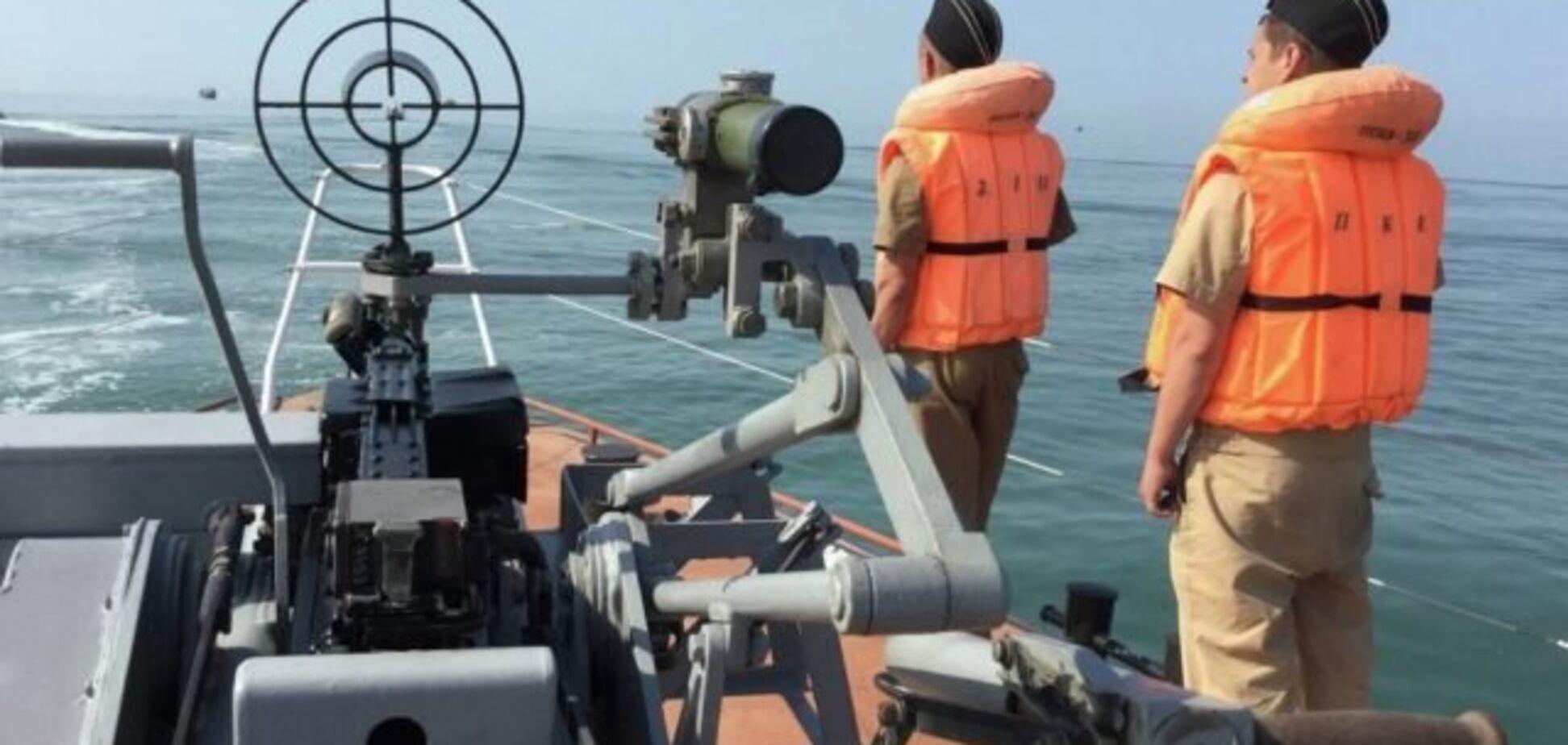 Затримання судна в Криму