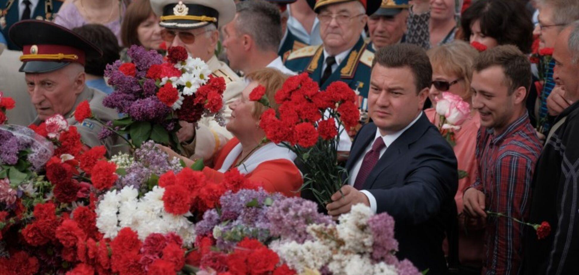 Депутати 'Відродження' привітали ветеранів із Днем перемоги
