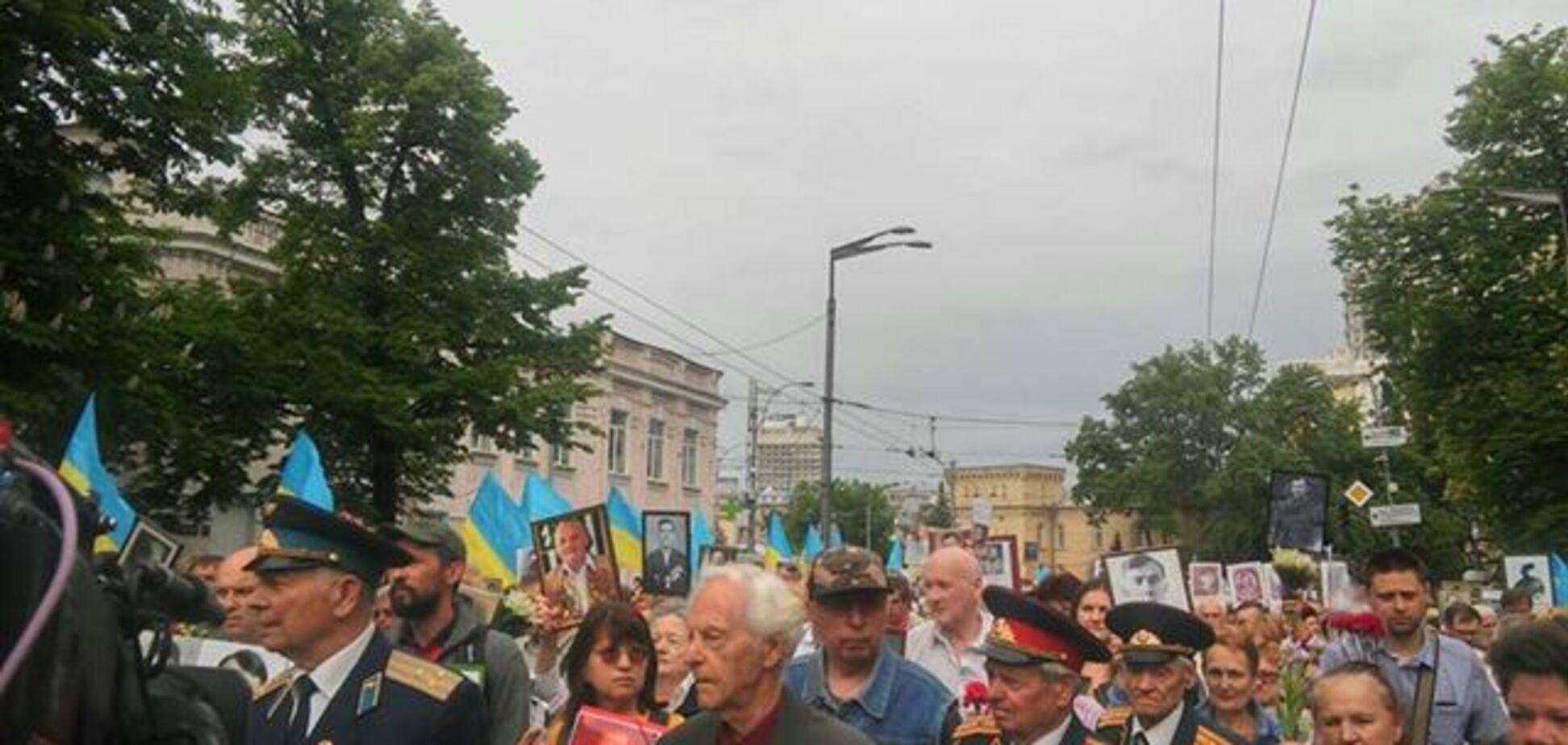 Акция 'Бессмертный полк' в Киеве 09.05.2018