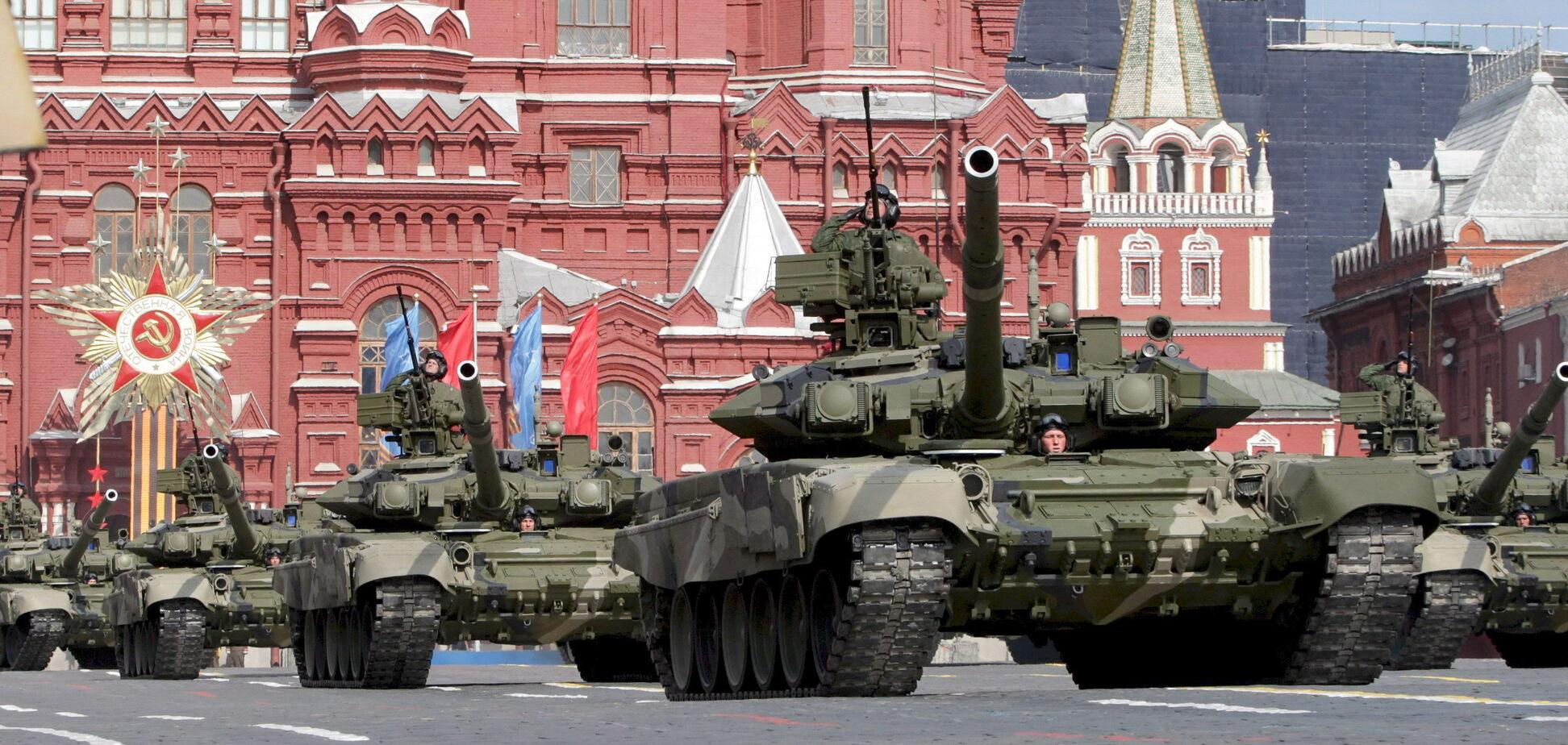 Показали 'Чебурашку' и жену Путина: как прошли парады в России и 'ДНР'