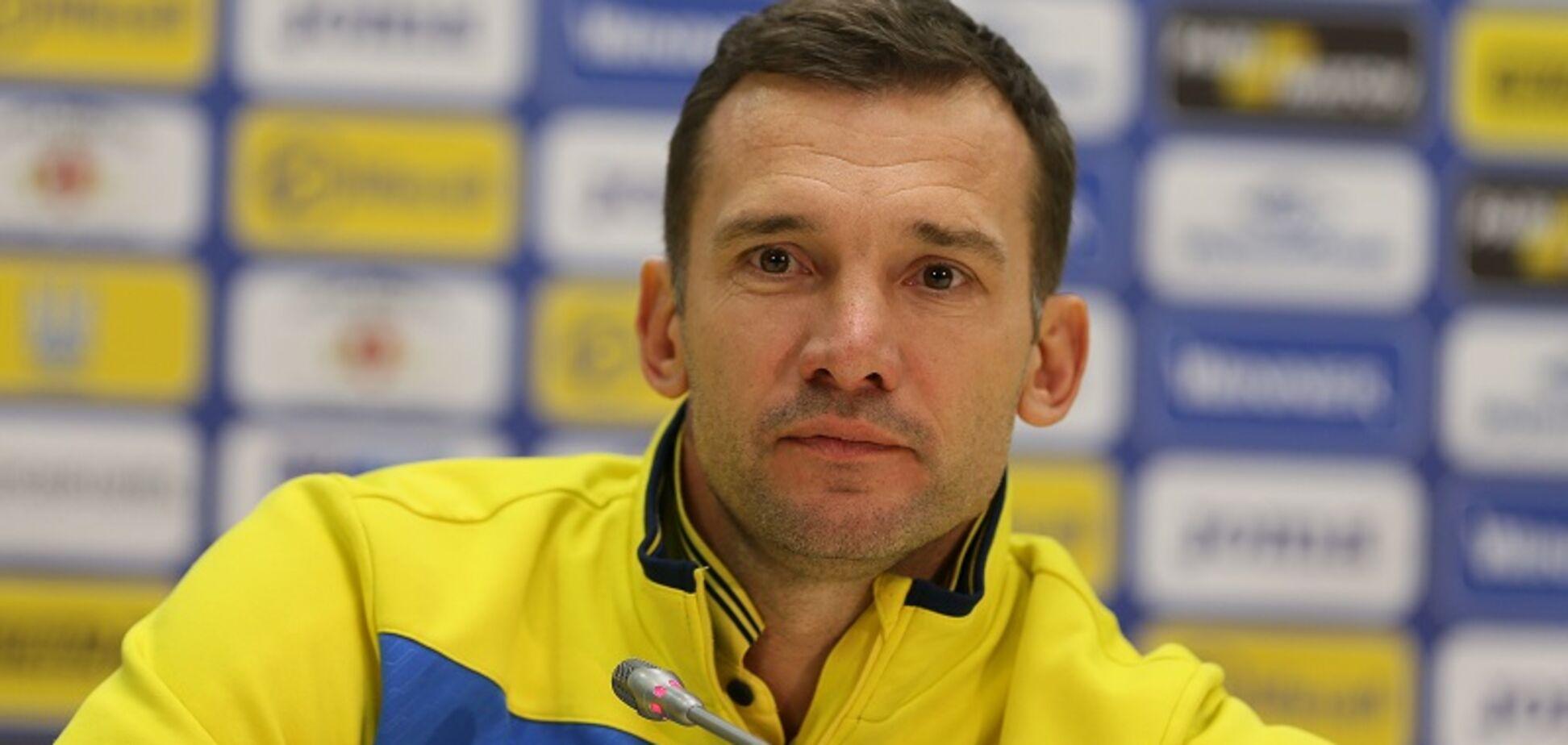 Стало известно, кого Шевченко исключил из сборной Украины на матч с Чехией