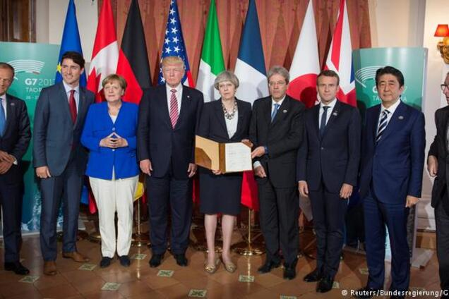 """Результат пошуку зображень за запитом """"саміт G7"""""""