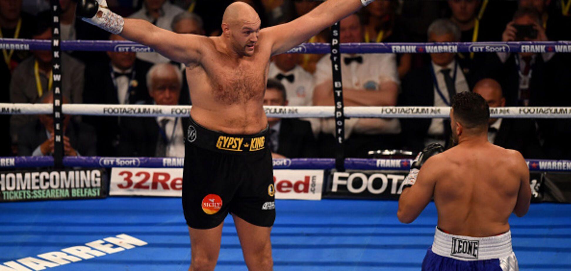 Тайсон Ф'юрі здобув перемогу, влаштувавши клоунаду замість боксу