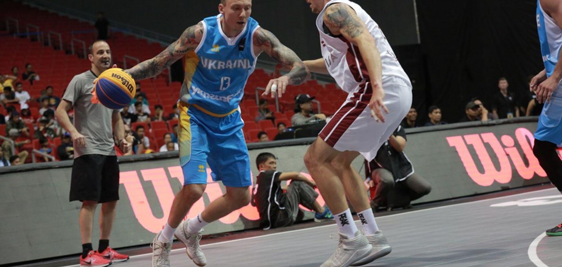 Україна вийшла в чвертьфінал КС з баскетболу 3х3