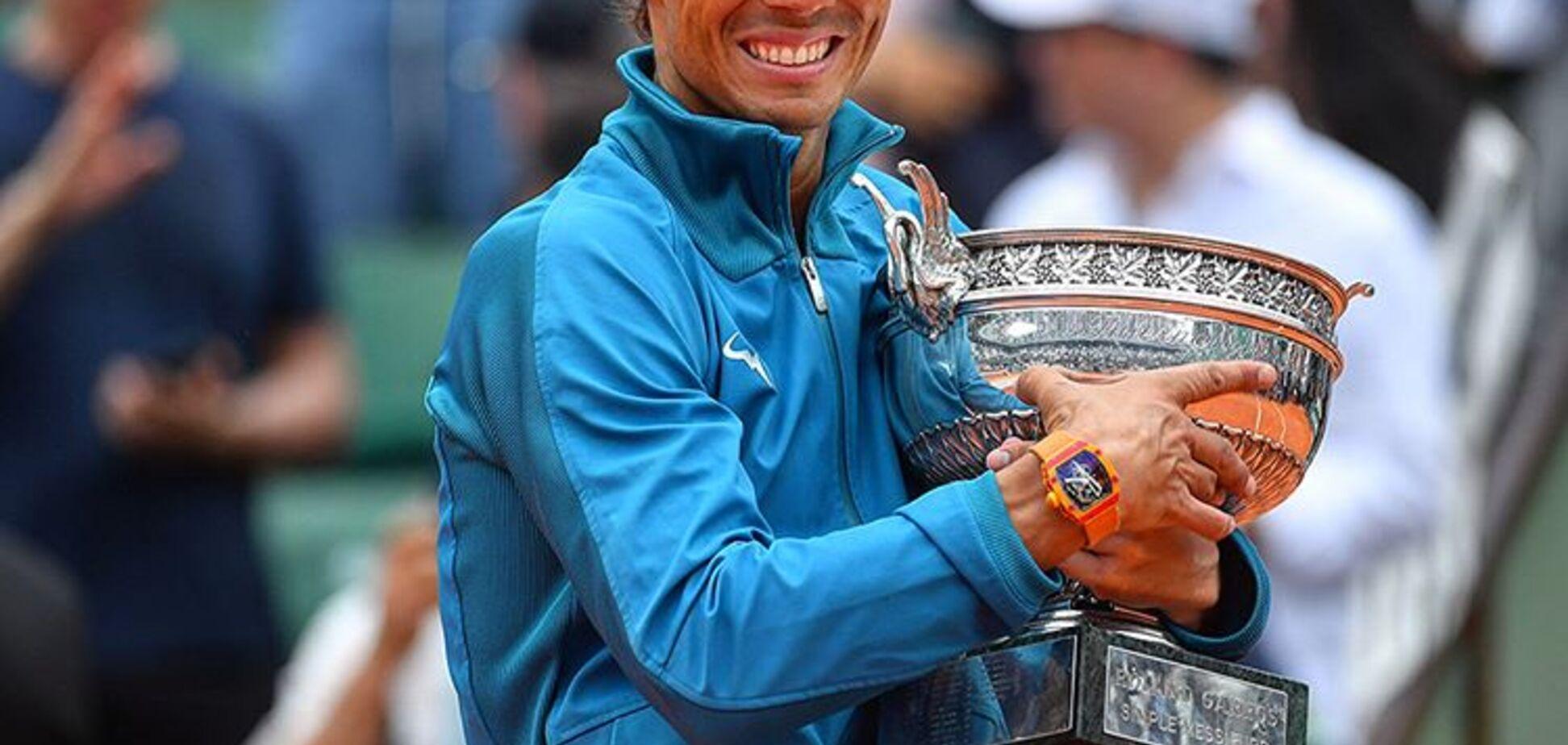 Надаль на фіналі Roland Garros козирнув унікальною покупкою