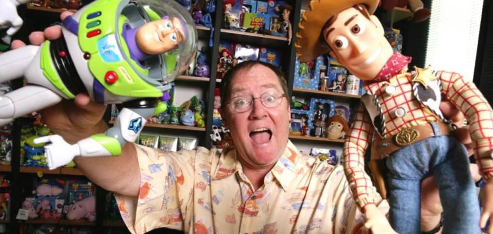 Засновник Pixar і директор Disney покине студії через секс-скандал