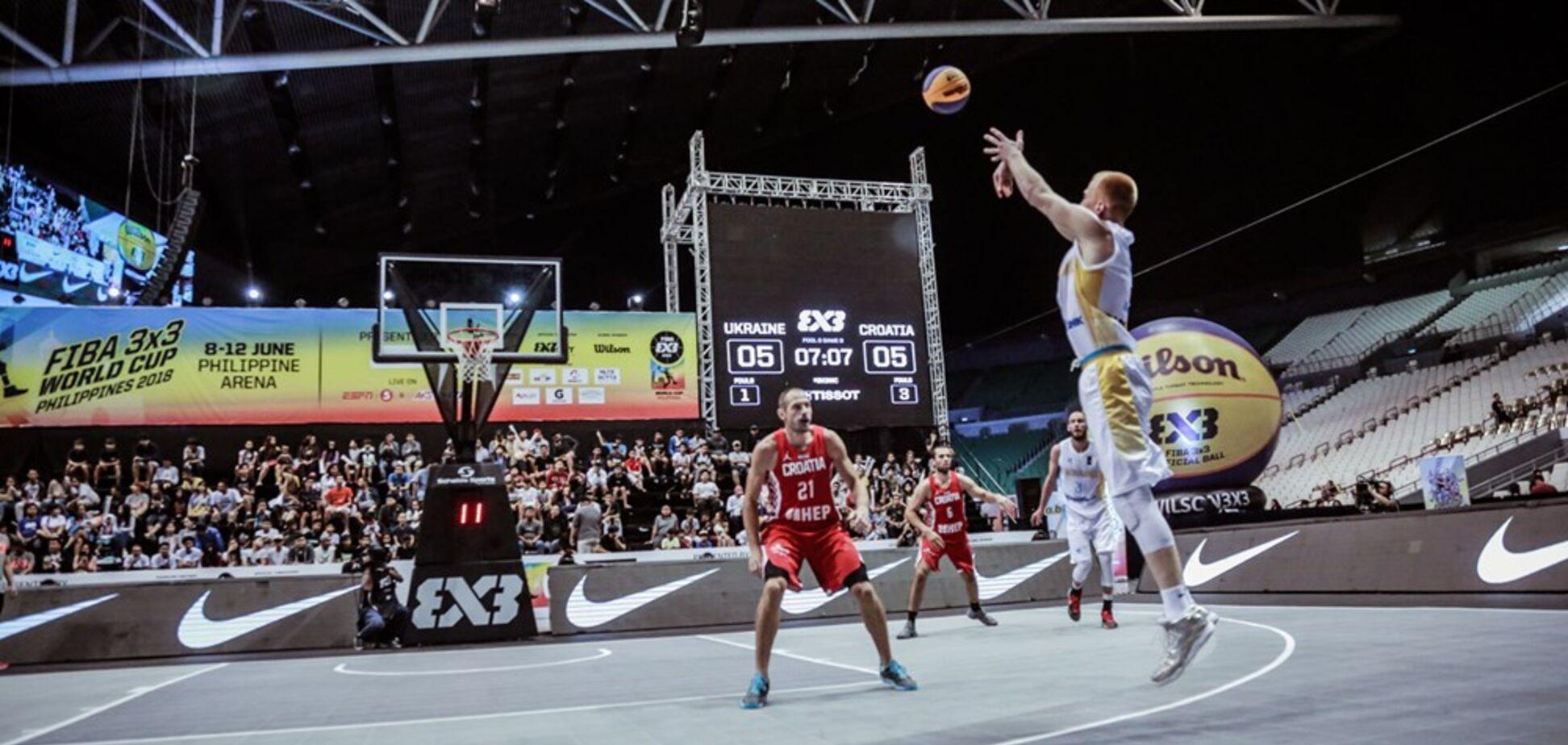 Україна за скандального суддівства програла в 1/4 фіналу КМ з баскетболу 3х3