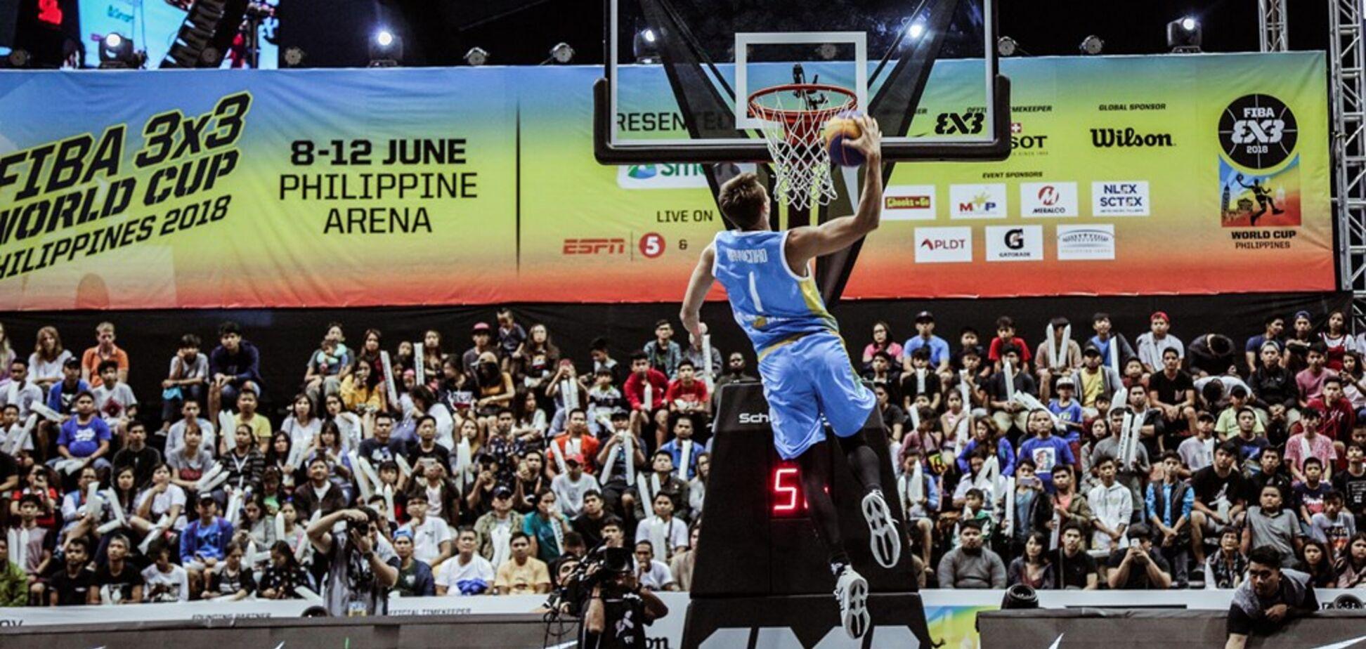 Украинский данкер выиграл 'золото' Кубка мира по баскетболу 3х3