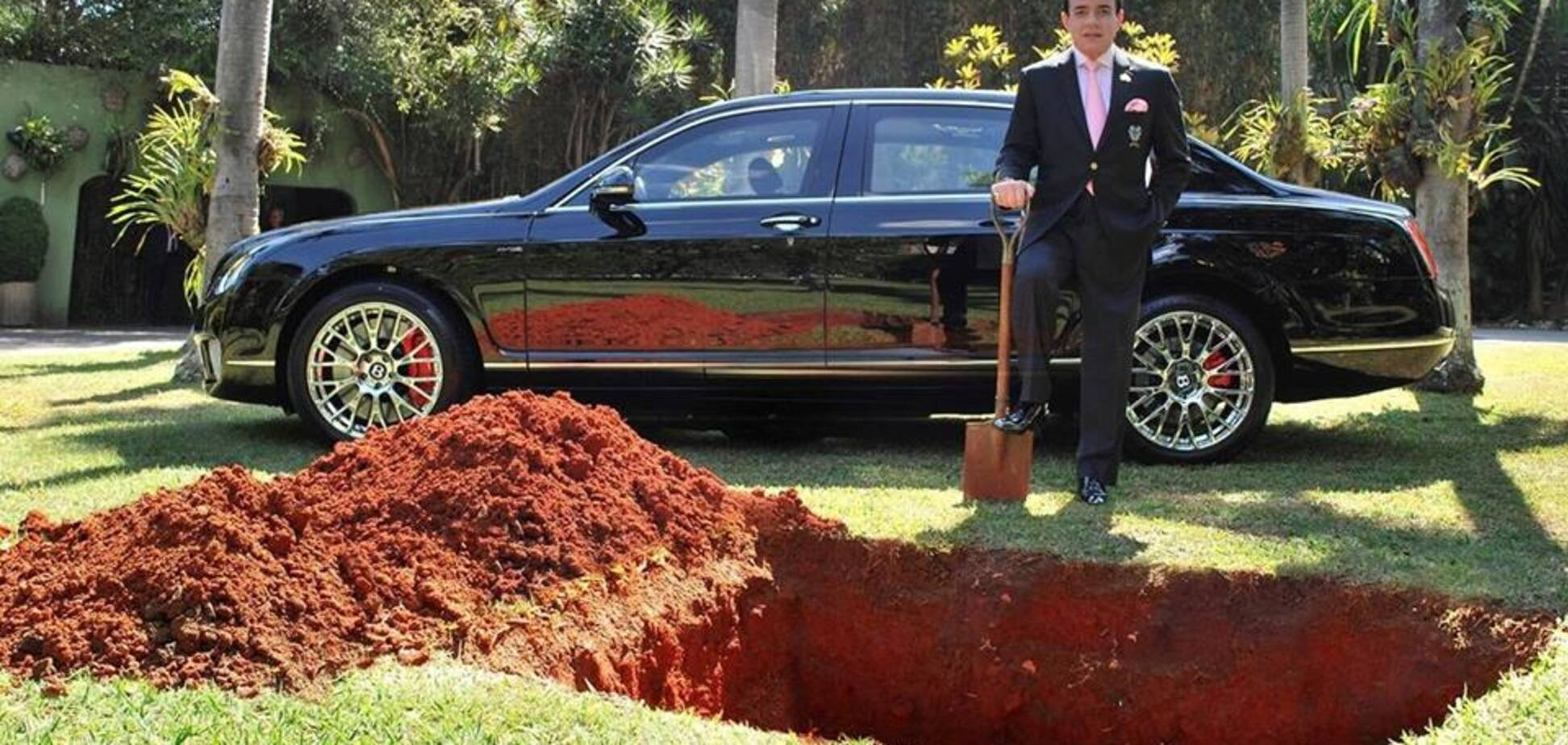 Як мільярдер Bentley ховав